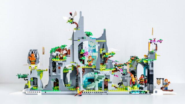 REVIEW LEGO Monkie Kid 80024 The Legendary Flower Fruit Mountain