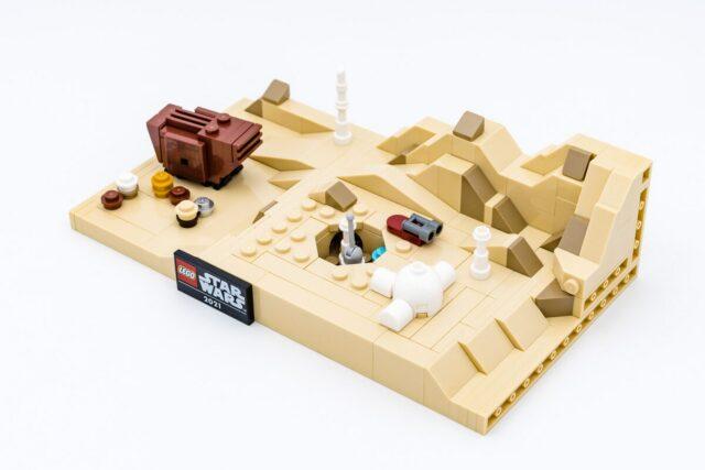 Review LEGO Star Wars 40451 Tatooine GWP