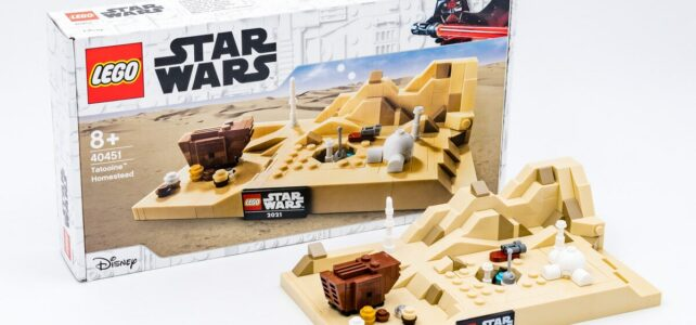 Review LEGO Star Wars 40451 Tatooine GWP