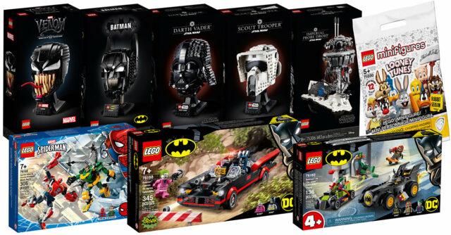 Shop LEGO nouveautés 26 avril 2021