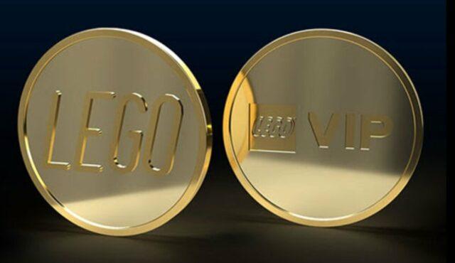 Gold LEGO VIP Coin