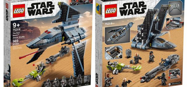 LEGO Star Wars 75314 Bad Batch