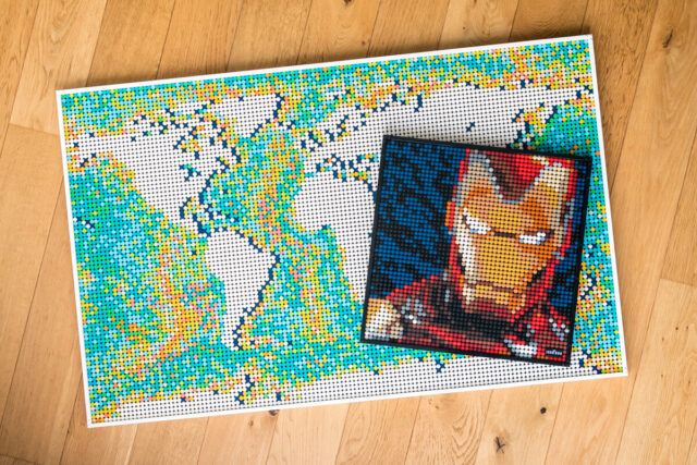 Review LEGO Art 31203 World Map