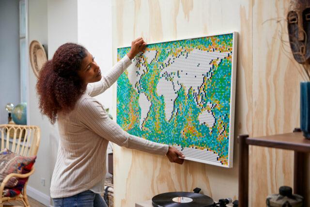 LEGO Art 31203 World Map