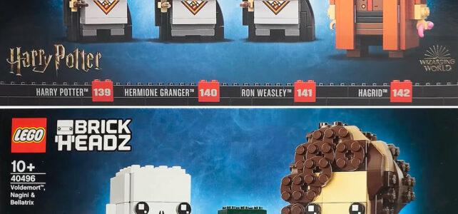 LEGO BrickHeadz 2021 Harry Potter 40495 40496