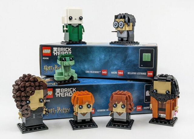 LEGO BrickHeadz 2021 Harry Potter & Voldemort