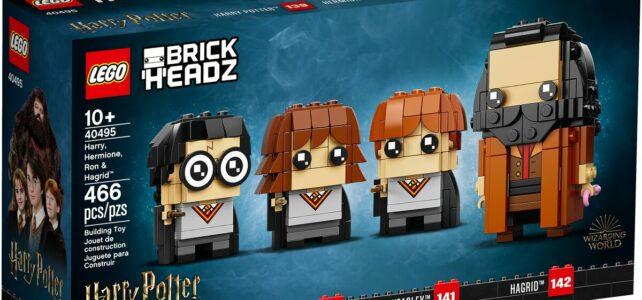 Nouveautés LEGO BrickHeadz Harry Potter 2021
