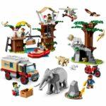 LEGO City 60307 Wildlife Rescue Camp