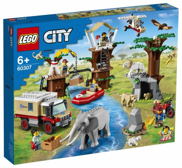 LEGO City 60307 Wildlife Rescue CampLEGO City 60307 Wildlife Rescue Camp