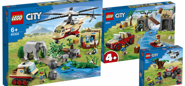 LEGO City summer 2021