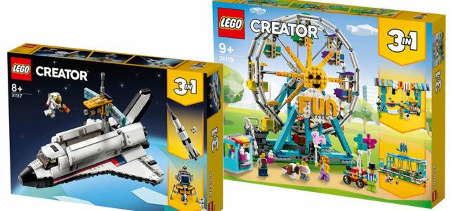 LEGO Creator 2021 31117 31119