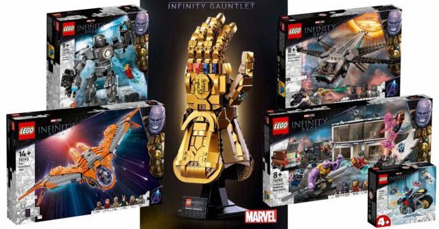 LEGO Marvel 2021 Avengers