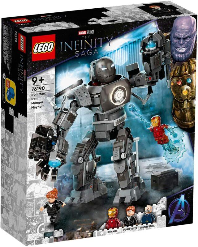 LEGO Marvel 76190 Iron Man