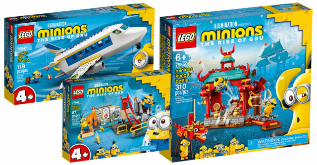 LEGO Minions 2021 The Rise of Gru