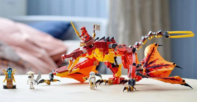 LEGO Ninjago Legacy 71753 dragon