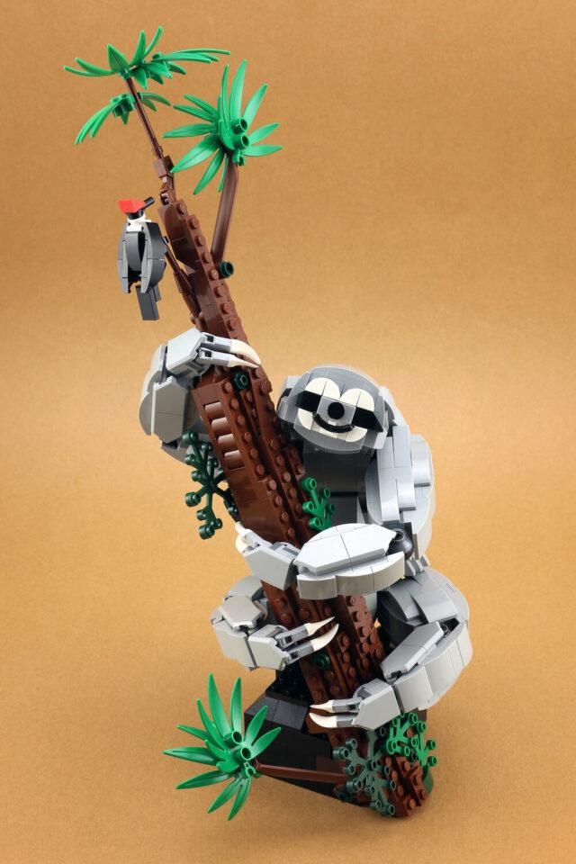 Paresseux LEGO MOC Sloth
