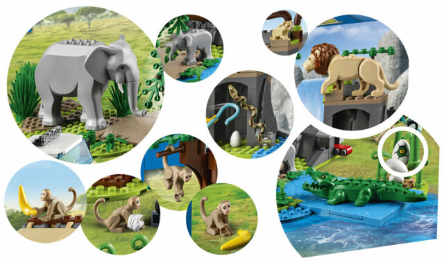 LEGO wildlife animals 2021