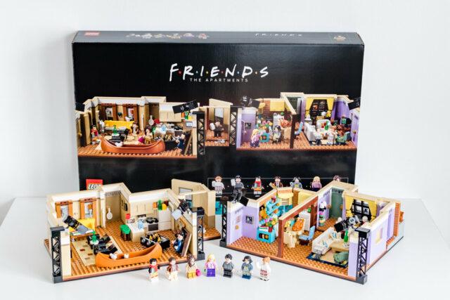 Review LEGO 10292 FRIENDS Apartments