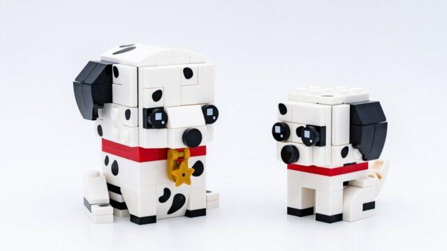 Review LEGO BrickHeadz 40479 Dalmatian