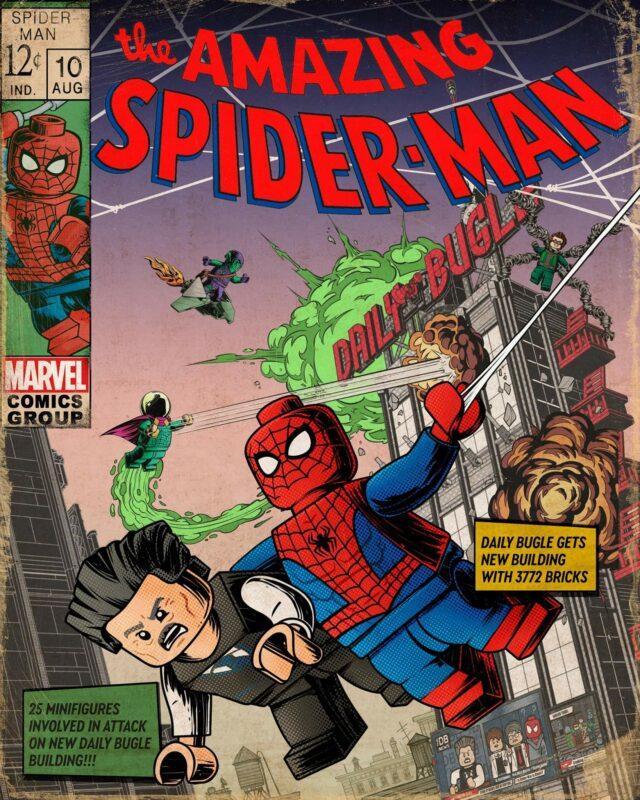 Spider-Man LEGO Daily Bugle