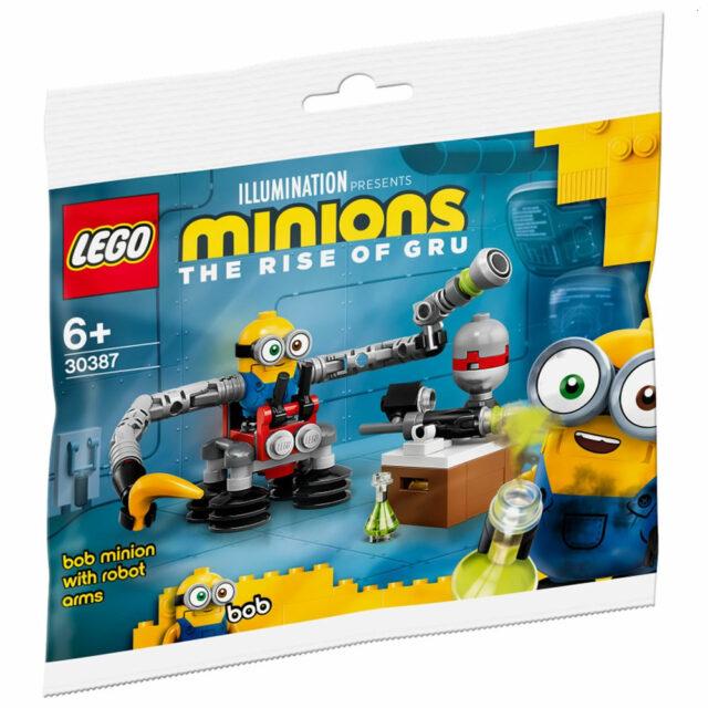 polybag LEGO 30387 Bob Minion With Robot Arms