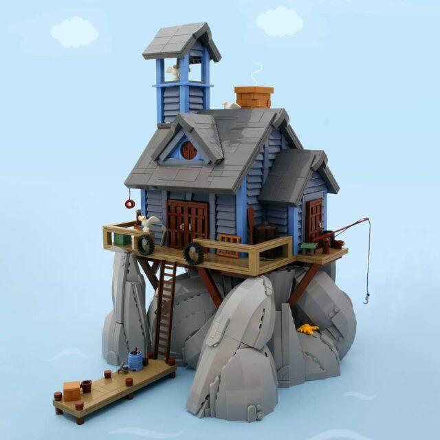 LEGO Moc Grant Davis Life on the Rocks