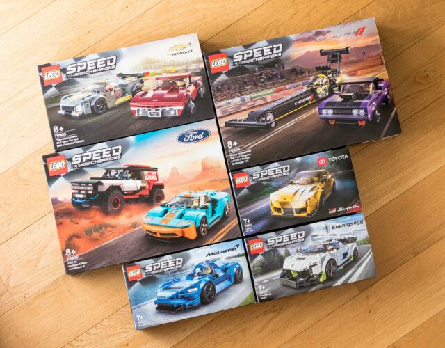 LEGO Speed Champions 2021 box