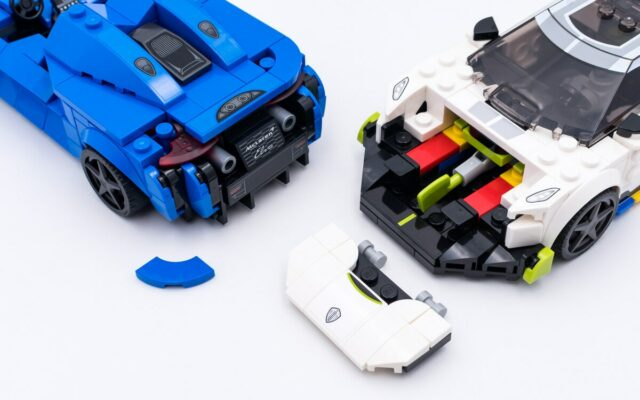 LEGO Speed Champions 2021 building details