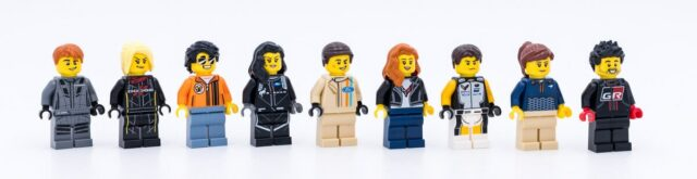 LEGO Speed Champions 2021 minifigures