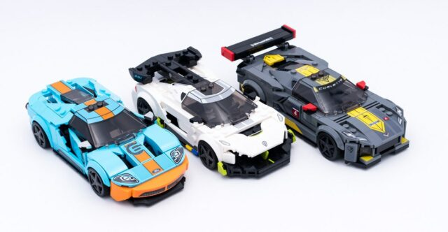 LEGO Speed Champions 2021 supercars