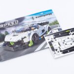 LEGO Speed Champions 76900 stickers