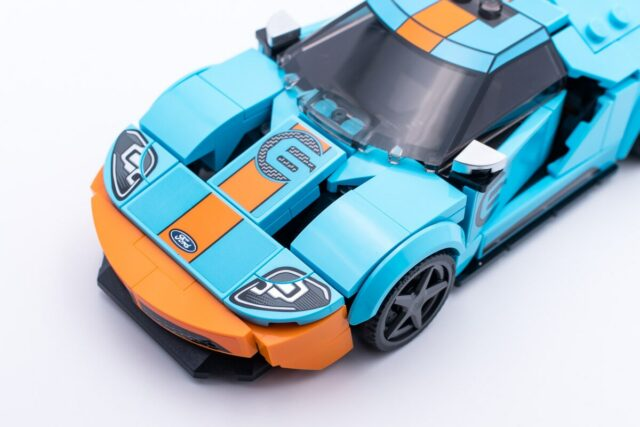 LEGO Speed Champions 76905 Ford GT printed