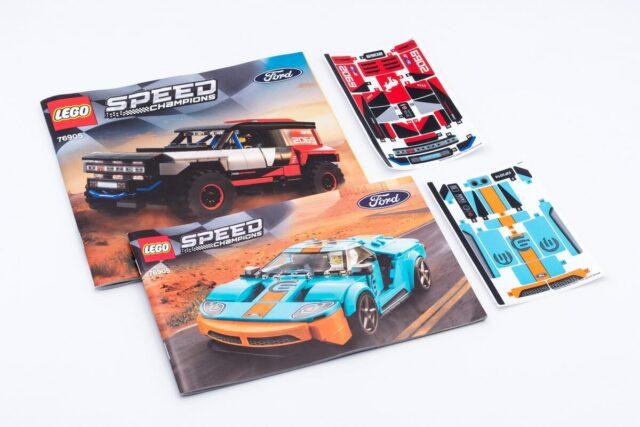 LEGO Speed Champions 76905 stickers