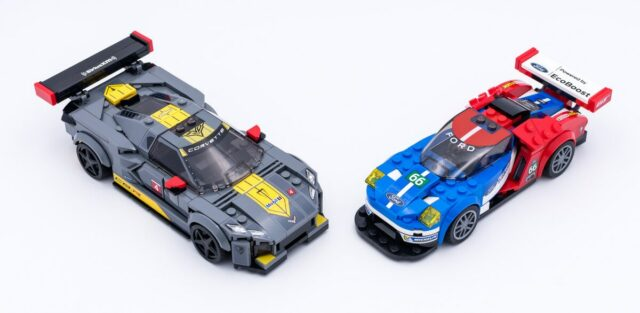 LEGO Speed Champions largeur 6 vs 8