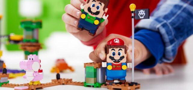 LEGO Super Mario 2021 Luigi multijoueur