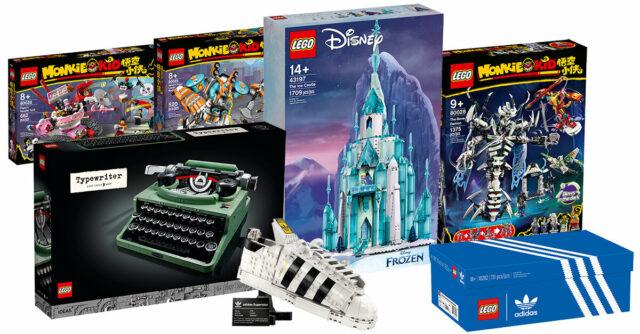 Nouveautés LEGO juillet 2021