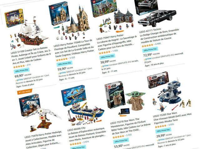 Promos LEGO Amazon Prime Day 2021