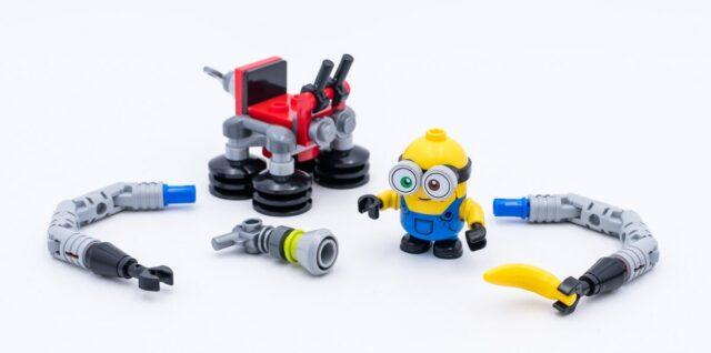 Review LEGO 30387 Bob Minion with Robot Arms