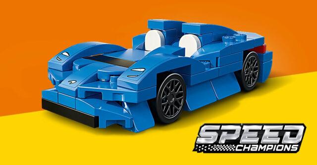 polybag LEGO Speed Champions30343 McLaren Elva