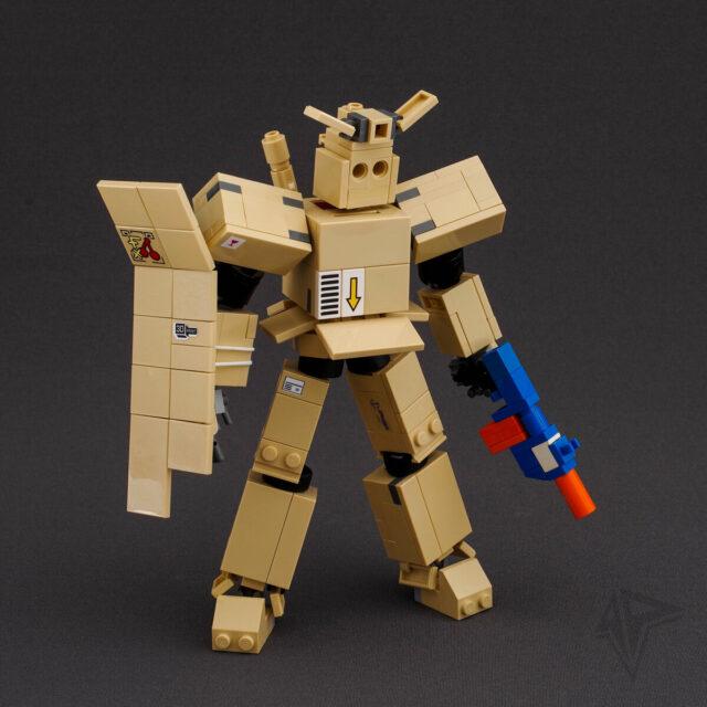 Cardboard LEGO Gundam