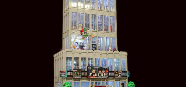 Double LEGO 76178 Daily Bugle