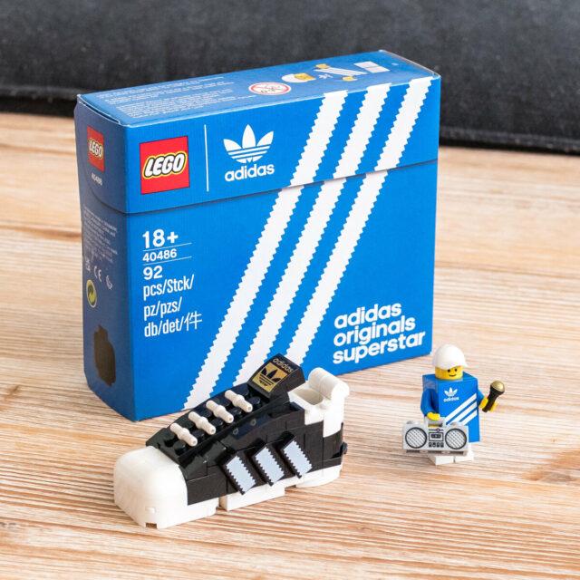 LEGO 40486 adidas Originals Superstar
