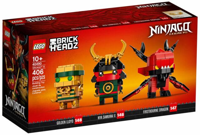 LEGO 40490 Brickheadz Ninjago 10