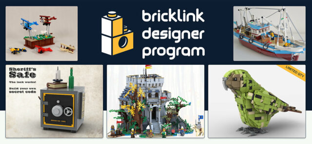 LEGO Bricklink Designer Program 2021