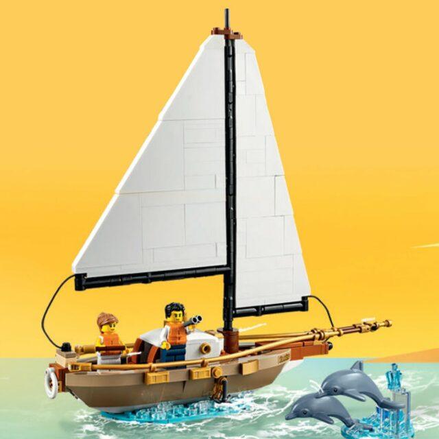 LEGO Ideas 40487 Sailboat