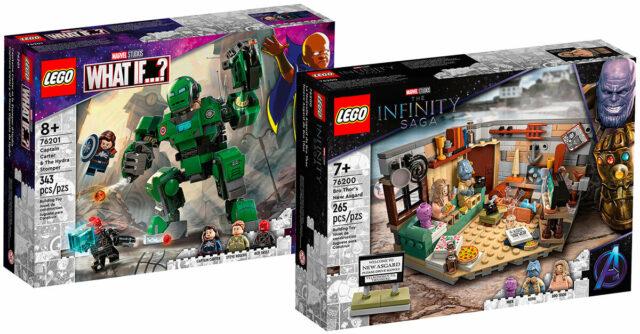 LEGO Marvel aout 2021