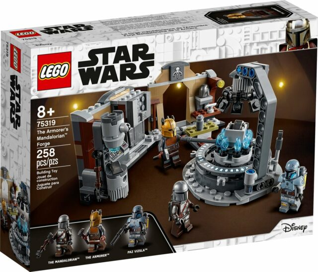LEGO Star Wars 75319 The Armorer's Mandalorian Forge
