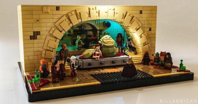 LEGO Star Wars Jabba's Throne room