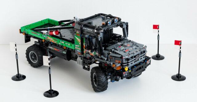 Review LEGO Technic 42129 Mercedes-Benz Zetros
