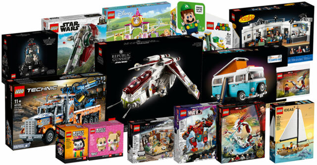 LEGO aout 2021